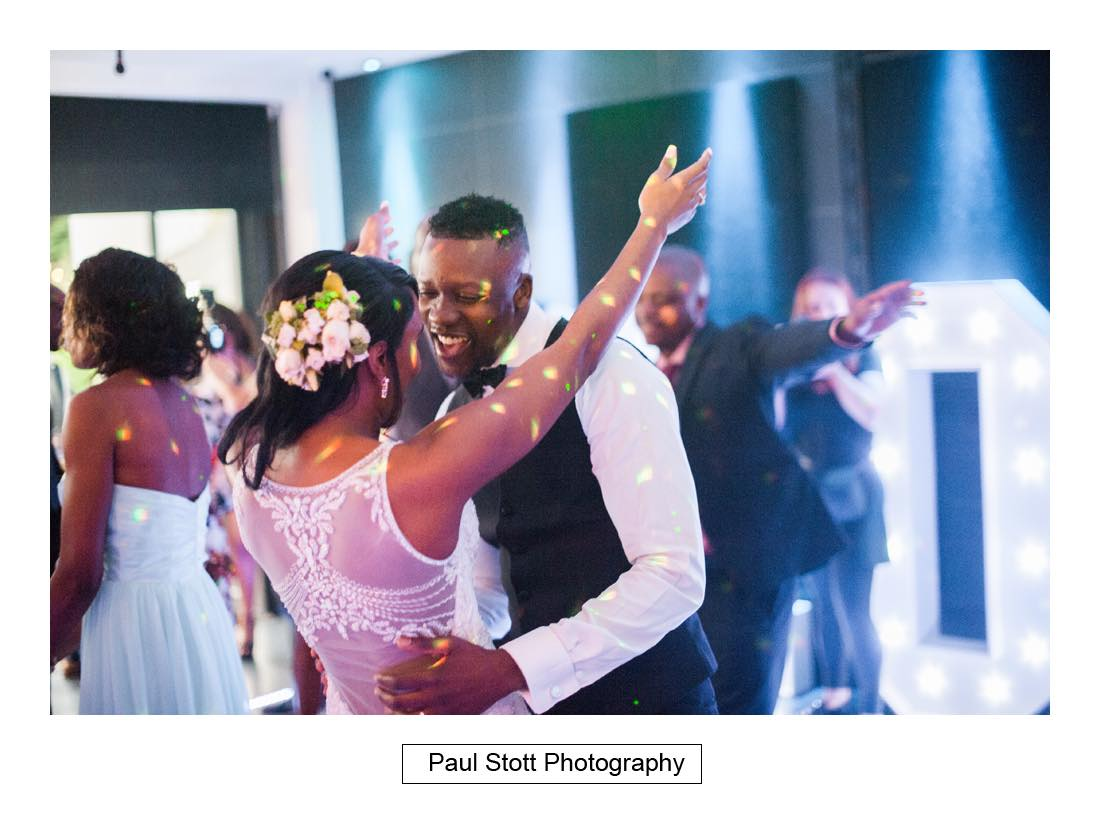 wedding first dance 1 - Wedding Photography Russets Country House - Alisha and Oscar