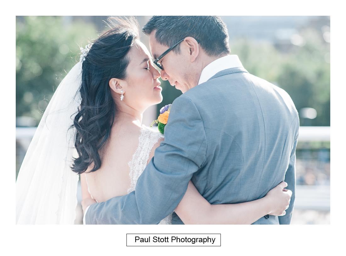 wedding photography millenium bridge 004 - Wedding Photography Somerset House - Christina and Colin