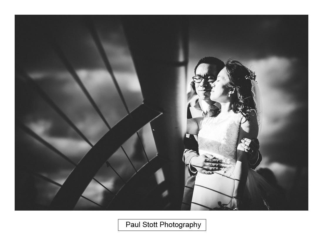 wedding photography millenium bridge 008 - Wedding Photography Somerset House - Christina and Colin