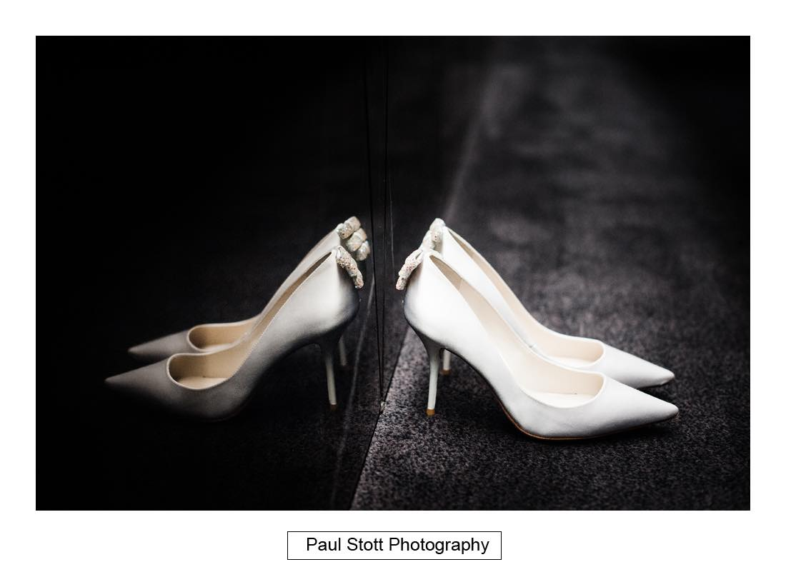wedding shoes 001 - Wedding Photography Somerset House - Christina and Colin