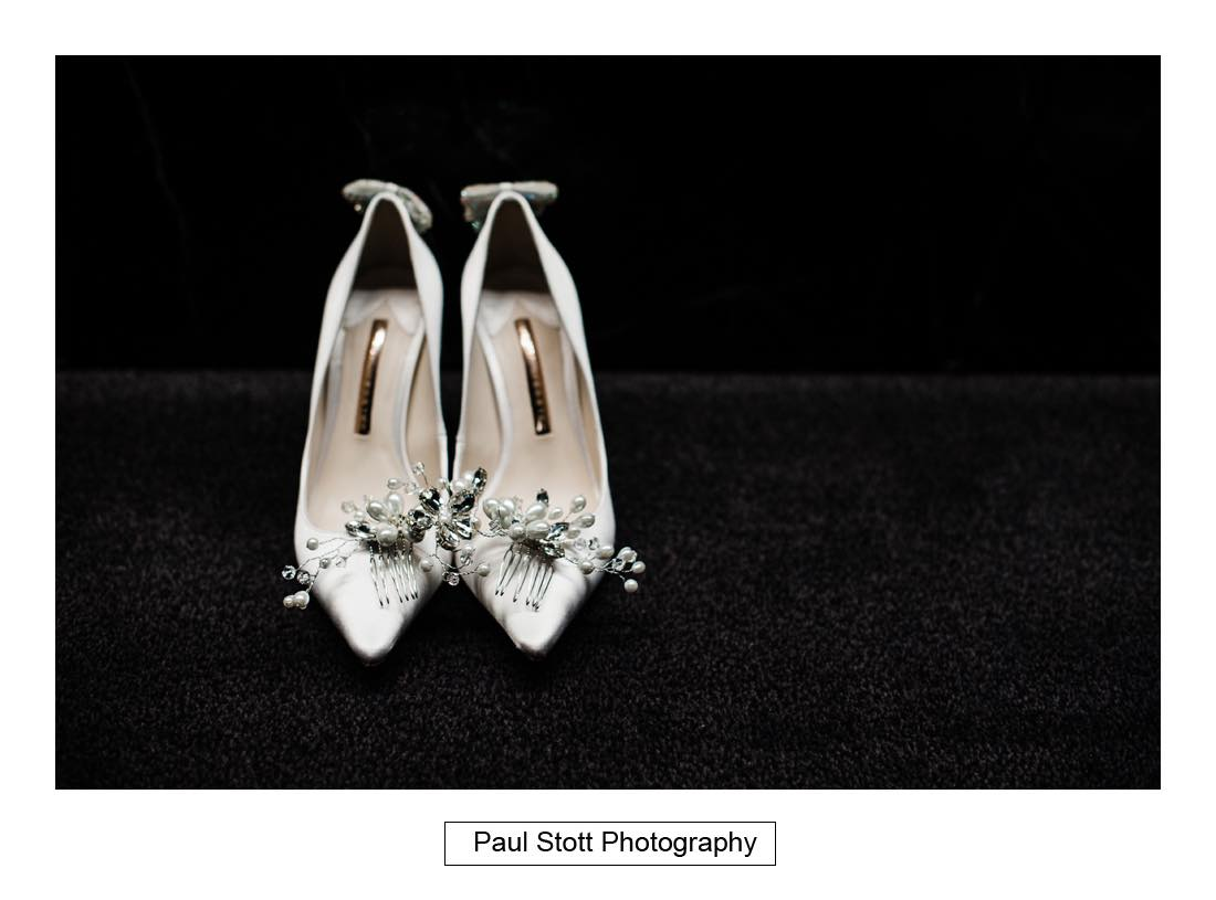 wedding shoes 002 - Wedding Photography Somerset House - Christina and Colin