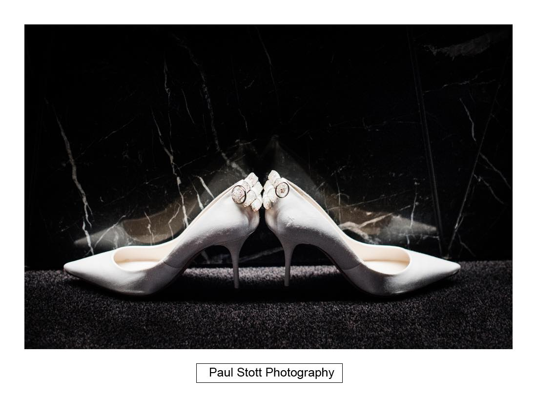 wedding shoes 003 - Wedding Photography Somerset House - Christina and Colin