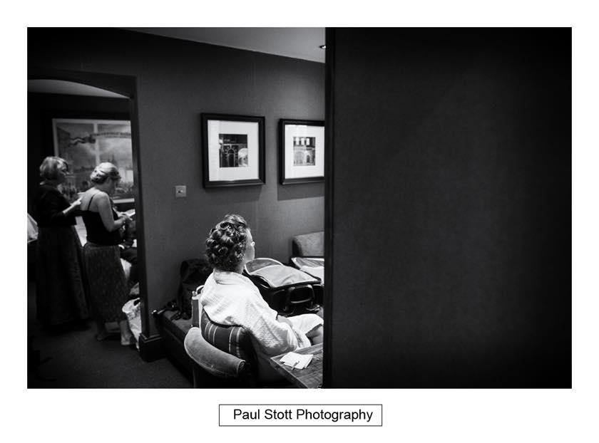 bridal preparation 001 - Leadenhall Market  Wedding Photography - Ben and Elle