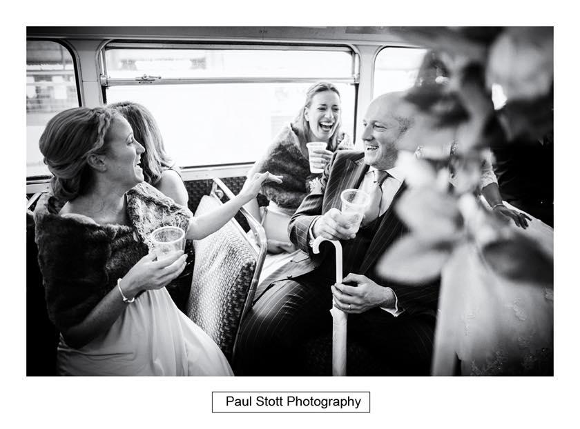 double decker wedding bus 002 - Leadenhall Market  Wedding Photography - Ben and Elle