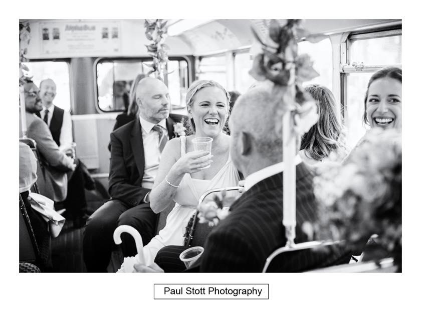 double decker wedding bus 003 - Leadenhall Market  Wedding Photography - Ben and Elle