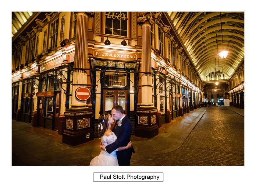 leadenhall market 003 1 - Leadenhall Market  Wedding Photography - Ben and Elle