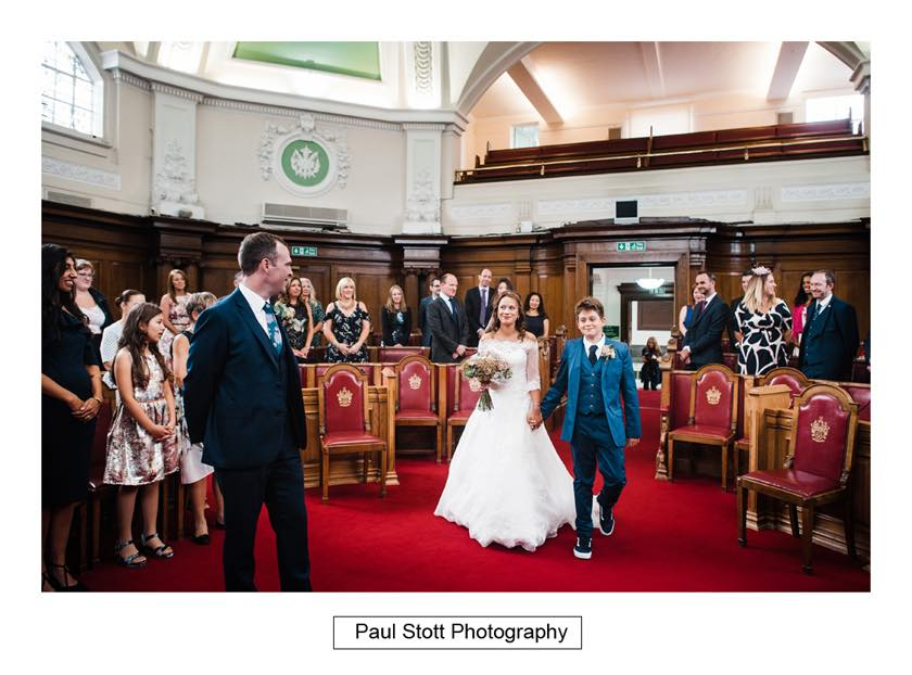 wedding ceremony islington town hall 001 - Leadenhall Market  Wedding Photography - Ben and Elle