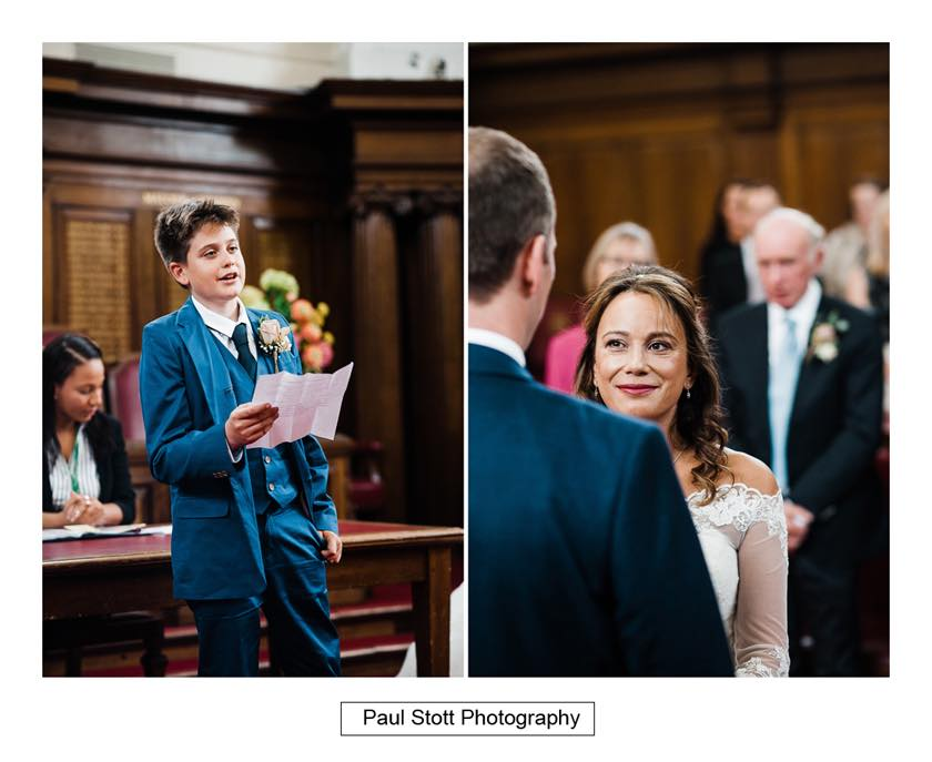 wedding ceremony islington town hall 002 - Leadenhall Market  Wedding Photography - Ben and Elle