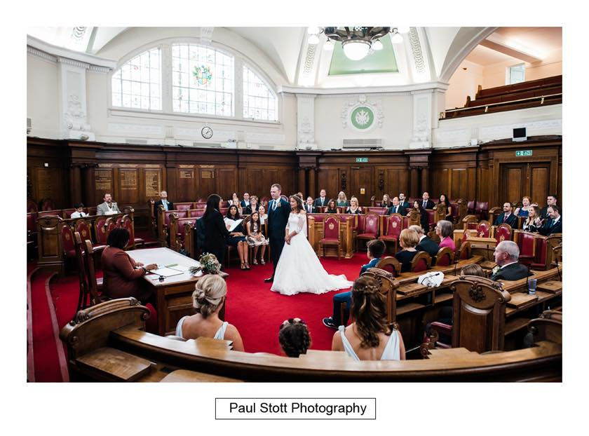 wedding ceremony islington town hall 003 - Leadenhall Market  Wedding Photography - Ben and Elle