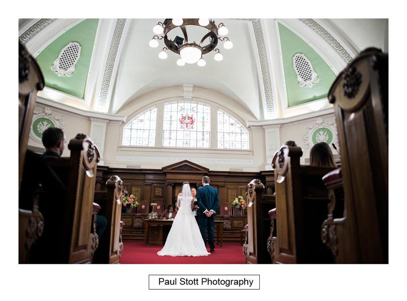 wedding ceremony islington town hall 004 - Leadenhall Market  Wedding Photography - Ben and Elle