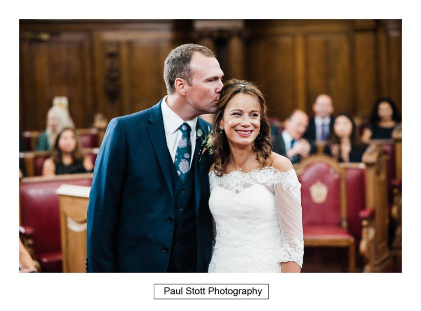 wedding ceremony islington town hall 006 - Leadenhall Market  Wedding Photography - Ben and Elle