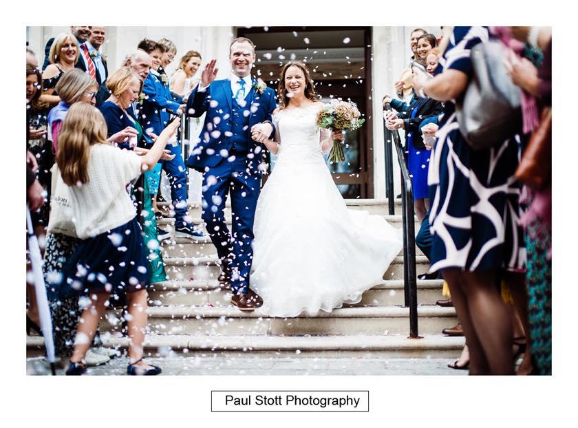 wedding confetti islington town hall 001 - Leadenhall Market  Wedding Photography - Ben and Elle