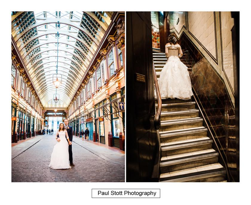wedding lamb tavern leadenhall 006 - Leadenhall Market  Wedding Photography - Ben and Elle