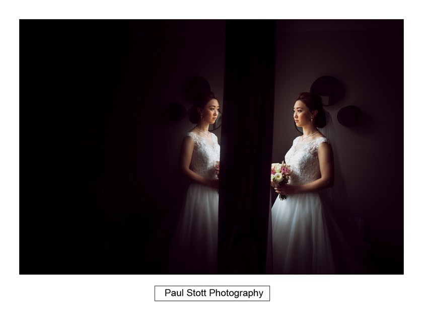 bridal portraits wotton house 001 - Wotton House Wedding Photography - Na Lee and James