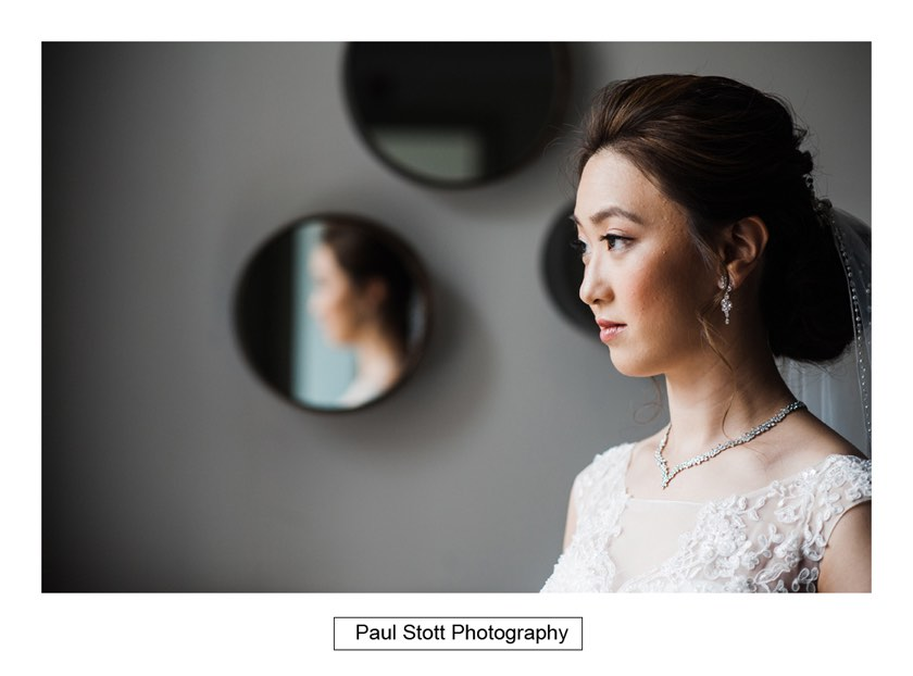 bridal portraits wotton house 002 - Wotton House Wedding Photography - Na Lee and James