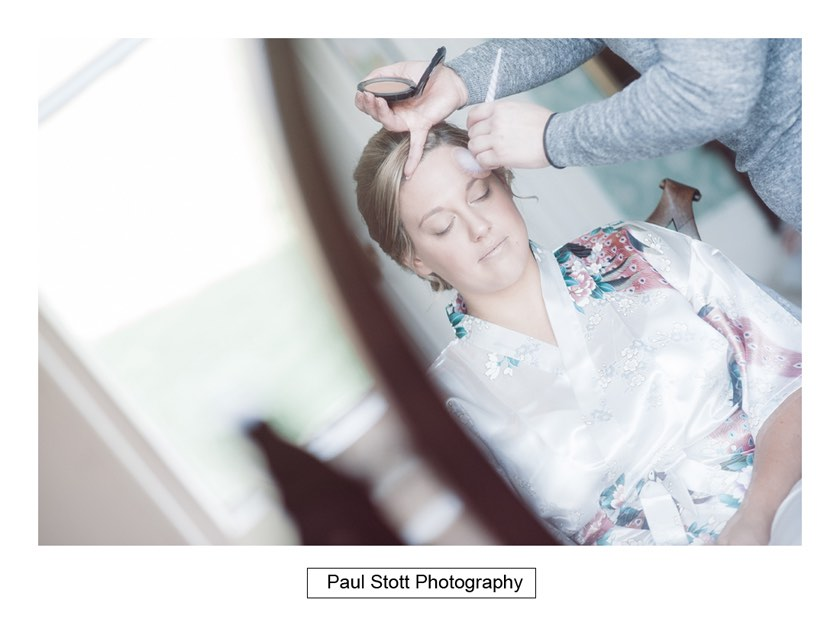 bridal preparation 002 1 - Wiston House Wedding Photography - Laura and Will