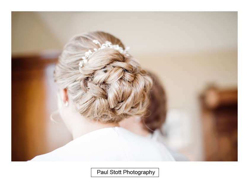 bridal preparation 008 1 - Wiston House Wedding Photography - Laura and Will