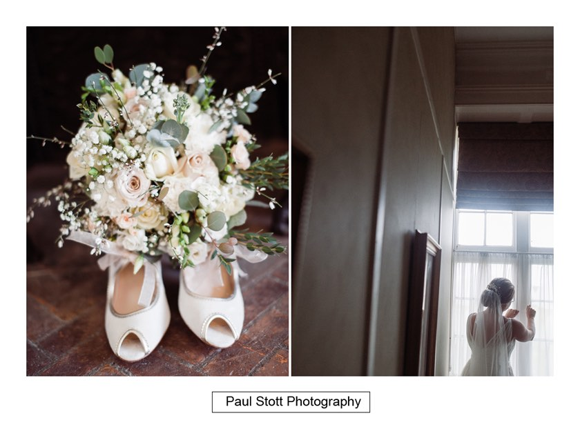 bridal preparation 011 1 - Wiston House Wedding Photography - Laura and Will