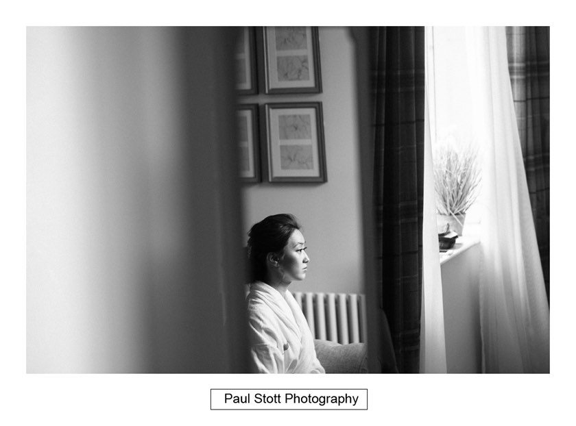 bride wedding preparation 003 - Wotton House Wedding Photography - Na Lee and James