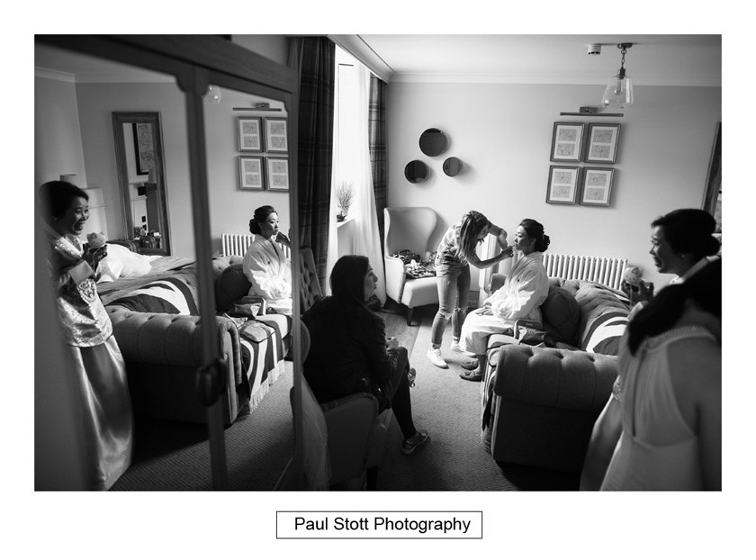 bride wedding preparation 004 - Wotton House Wedding Photography - Na Lee and James