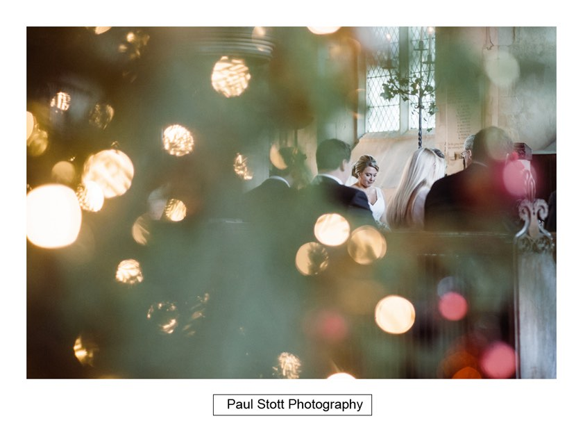 christmas tree church 1 - Wiston House Wedding Photography - Laura and Will