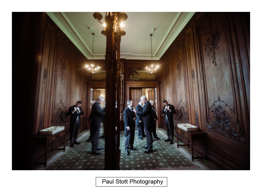 groom preparation 002 1 - Wiston House Wedding Photography - Laura and Will