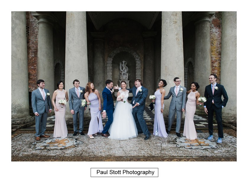 group shots wotton house 004 - Wotton House Wedding Photography - Na Lee and James