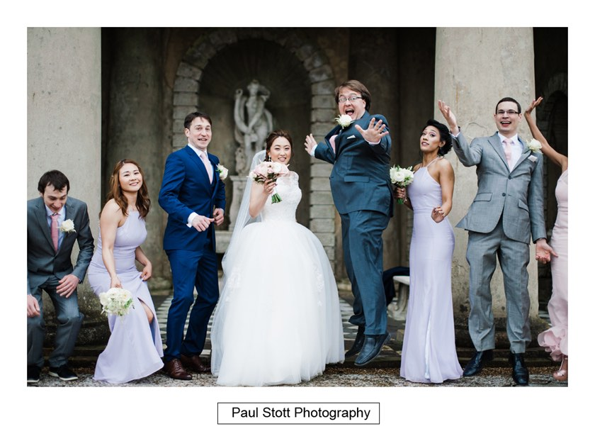 group shots wotton house 005 - Wotton House Wedding Photography - Na Lee and James