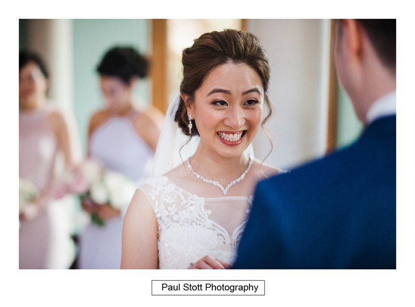 wedding ceremony wotton house 002 - Wotton House Wedding Photography - Na Lee and James