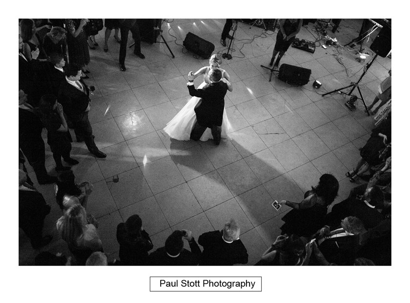 wedding first dance 1 - Wiston House Wedding Photography - Laura and Will