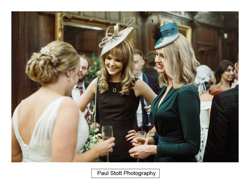 wedding guests 001 1 - Wiston House Wedding Photography - Laura and Will