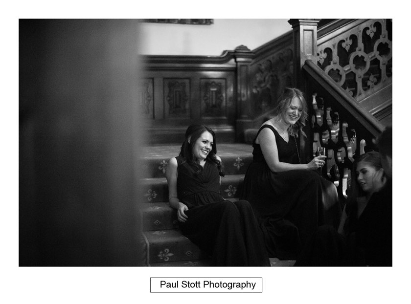 wedding guests 003 1 - Wiston House Wedding Photography - Laura and Will