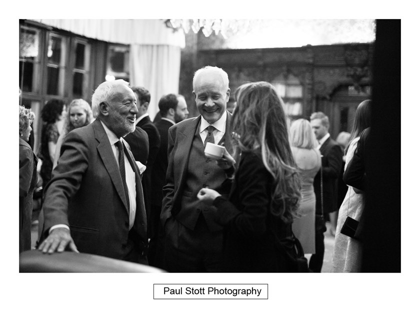 wedding guests 004 1 - Wiston House Wedding Photography - Laura and Will