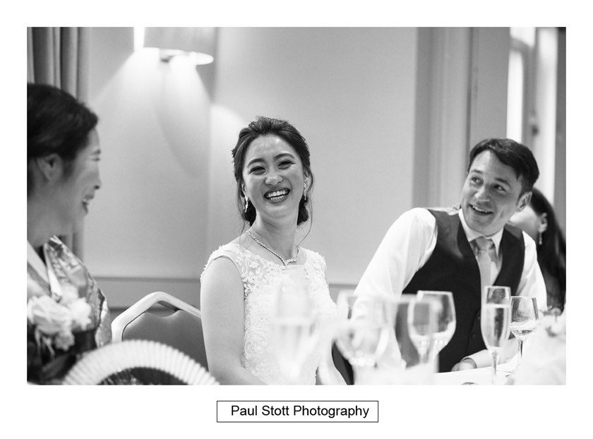 wedding speeches 001 840x622 - Wotton House Wedding Photography - Na Lee and James