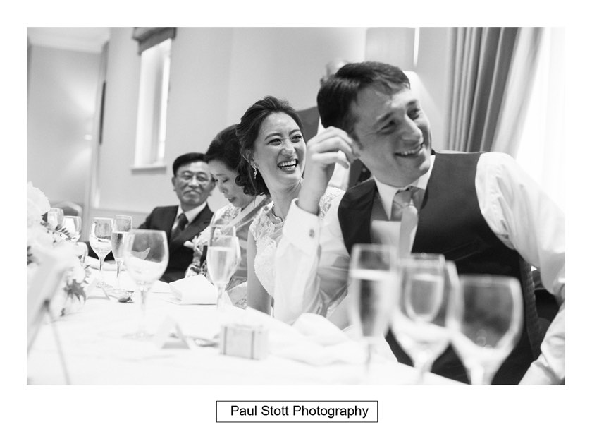 wedding speeches 003 - Wotton House Wedding Photography - Na Lee and James