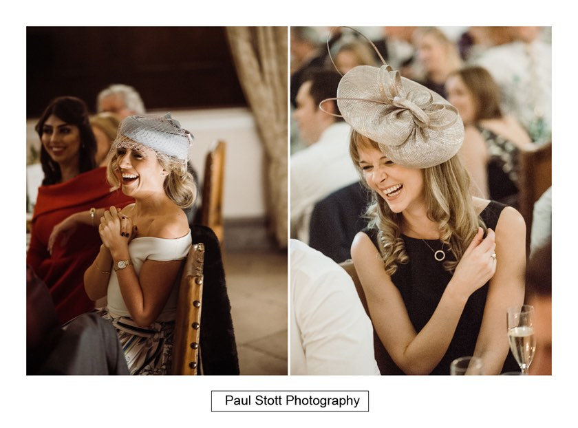 wedding speeches 004 2 - Wiston House Wedding Photography - Laura and Will