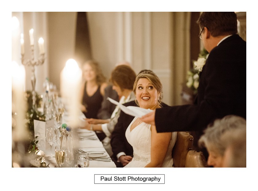 wedding speeches 005 2 - Wiston House Wedding Photography - Laura and Will