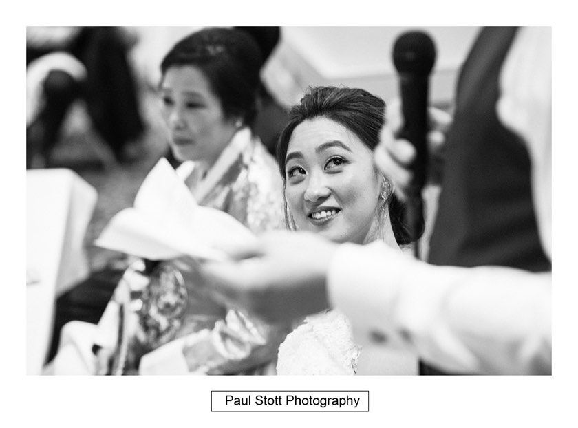 wedding speeches 005 - Wotton House Wedding Photography - Na Lee and James