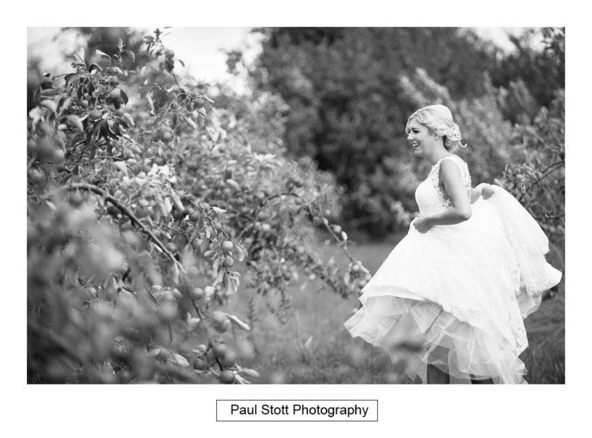 bride groom apple orchard 003 - Crow Farm - Gemma and Phil