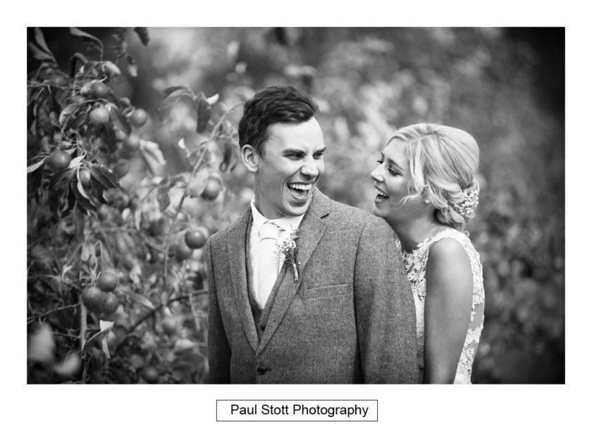 bride groom apple orchard 004 - Crow Farm - Gemma and Phil