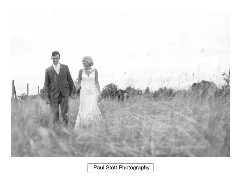 bride groom fields 001 - Crow Farm - Gemma and Phil