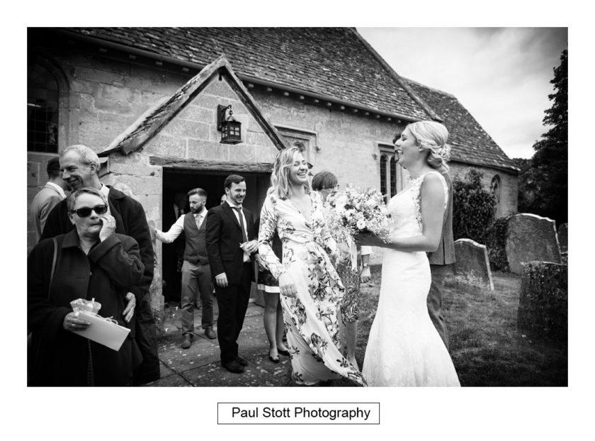 bride guest church - Crow Farm - Gemma and Phil