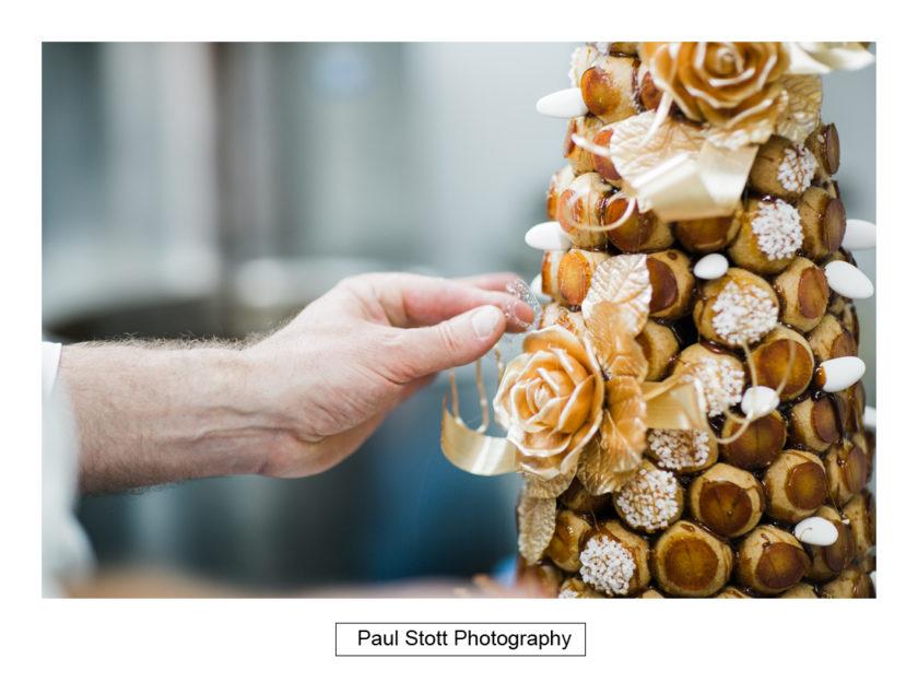 croquembouch quat de saisons 001 - Quat'Saisons Wedding Photography - Angela and Paul