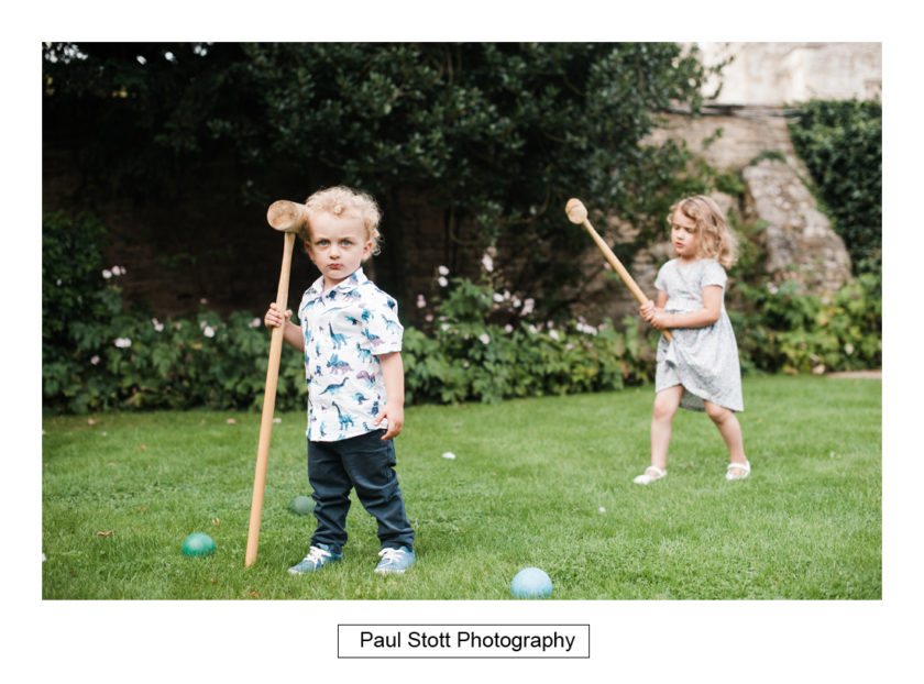 croquet law quat de saisions 002 - Quat'Saisons Wedding Photography - Angela and Paul