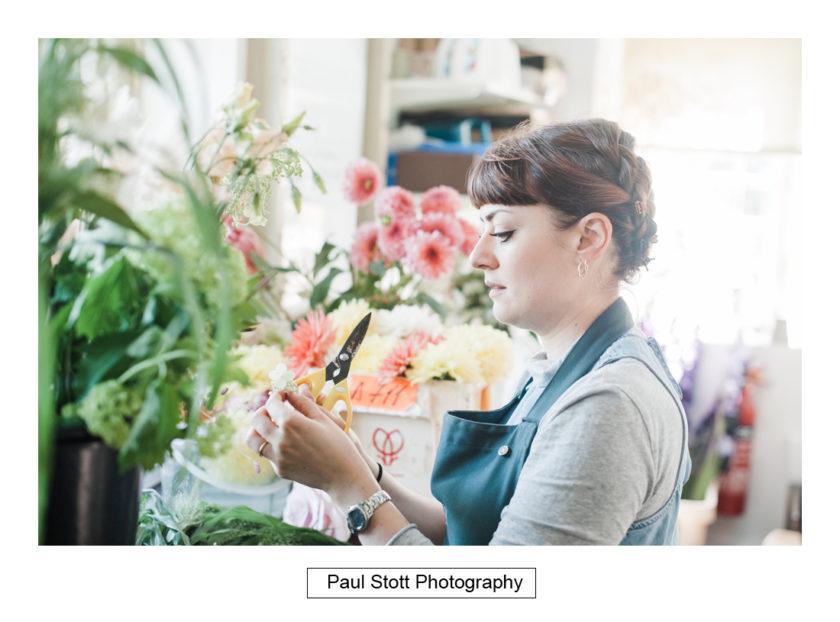 florist - Quat'Saisons Wedding Photography - Angela and Paul