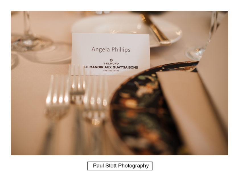 wedding breakfast room quat de saisions 002 - Quat'Saisons Wedding Photography - Angela and Paul