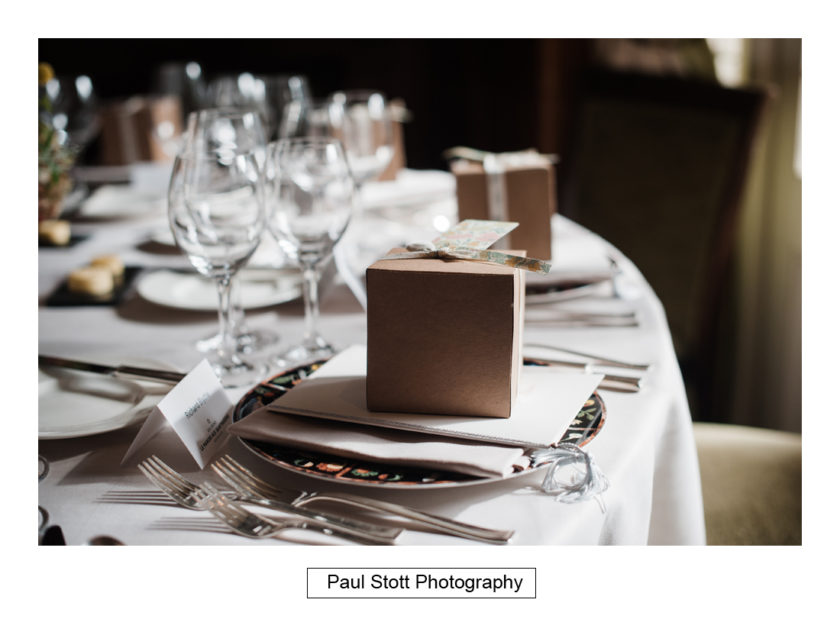 wedding breakfast room quat de saisions 003 - Quat'Saisons Wedding Photography - Angela and Paul