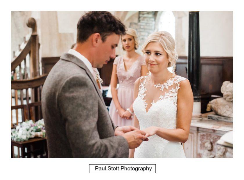 wedding ceremony 003 - Crow Farm - Gemma and Phil