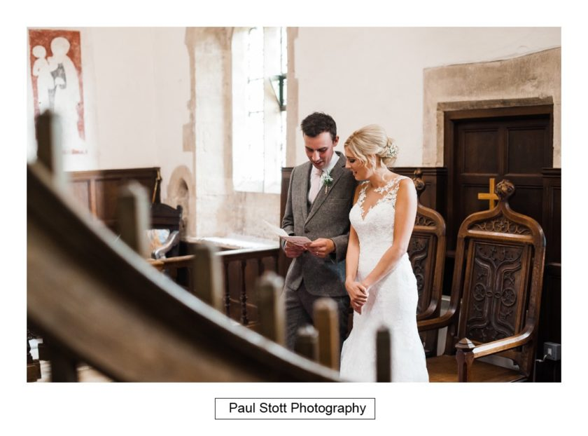 wedding ceremony 004 - Crow Farm - Gemma and Phil