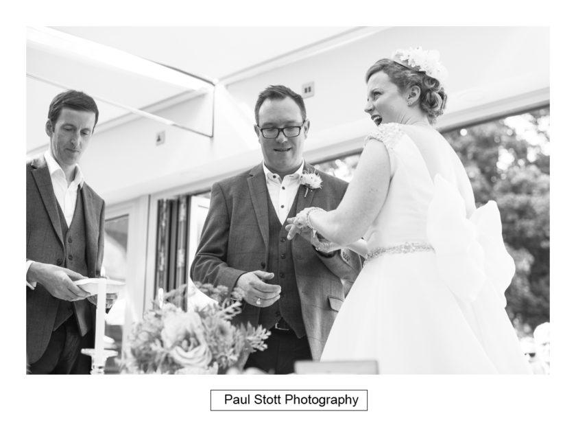 wedding ceremony quat de saisions 003 - Quat'Saisons Wedding Photography - Angela and Paul